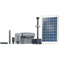 HEISSNER Solar Pumpen Set inkl. LED Ring
