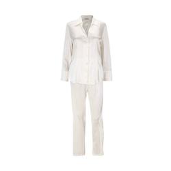 Eva B.Bitzer Pyjama Seiden-Pyjama natur XL = 44