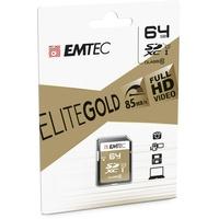 Emtec SDXC Gold+ 64GB Class 10