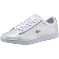 Lacoste Carnaby Evo 118 white-gold / white, 39