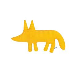 Julius Zoellner Kuscheltier Fuchs in Waffelpique Honey
