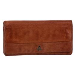 HARBOUR 2nd Geldbörse Luja, aus Leder mit schickem Anker-Marken-Label braun