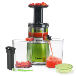 Genius Feelvita | Slow Juicer | Set 12-tlg.
