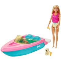 Barbie Boot mit Puppe