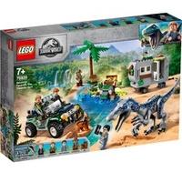Lego Jurassic World Baryonyxs Kräftemessen: die Schatzsuche 75935