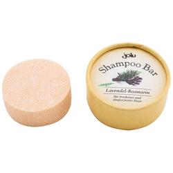 "Jolu Festes Shampoo ""Shampoo Bar Lavendel-Rosmarin"" in Pappdose, 50 g"