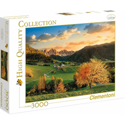 Clementoni® Puzzle High Quality Collection - Die Alpen, 3000 Puzzleteile, Made in Europe