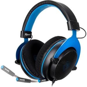 Sades Mpower SA-723 Gaming-Headset (Kompatibel mit PS4, PS5, Xbox One, Xbox Series X/S und Nintendo Switch) blau