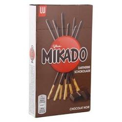 Mikado Zartherbe Keksstäbchen mit Überzug aus dunkler Schokolade 75g