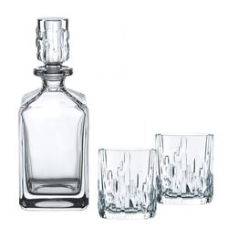 NACHTMANN Serie Shu Fa Whisky-Set Karaffe und 2 Gläser Tumbler