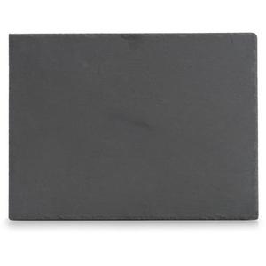 Zeller Servierplatte eckig aus Schiefer, 40 x 30 cm