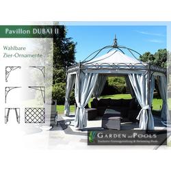 Massiver 6-eckiger Pavillon Casablanca