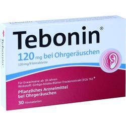 Tebonin 120 mg bei Ohrgeräuschen