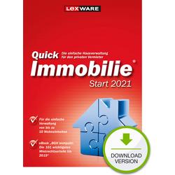 Lexware QuickImmobilie 2021 Start