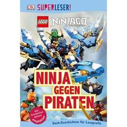 SUPERLESER! LEGO® NINJAGO® Ninja gegen Piraten