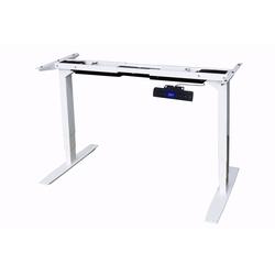 Yulukia Tischgestell Yulukia Elektrisch Höhenverstellbares Tischgestell, Höhenverstellbar, Breitenverstellbar weiß 164.00 cm x 62 cm - 127 cm x 60 cm