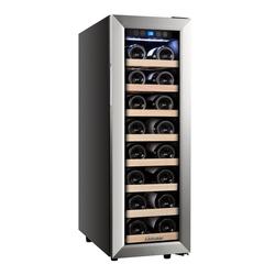 kalamera Weinkühlschrank KRC-75ASS, für 21 Standardflaschen á 0,75l