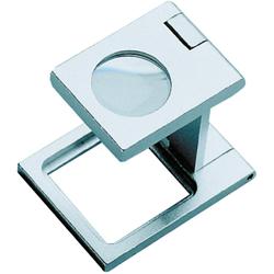 Mini-Standlupe faltbar 10-fache Vergrößerung Biko