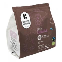 "Kaffeepads Charles Liégeois ""Chiapas"", 18 Stk."