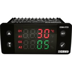 Emko ESM-3723.8.3.5.0.1/01.01/1.0.0.0 2-Punkt und PID Regler Temperaturregler NTC 0 bis 100°C Relai