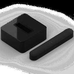 Sonos Beam 3.1 Heimkino Set mit Sub Gen. 3 schwarz (Beam: Wireless Soundbar mit Alexa...)