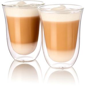 Doppelwandige Latte-Macchiato-Gläser, 2er-Set