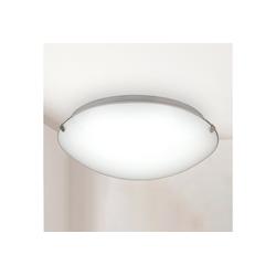 B.K.Licht LED Deckenleuchte Amaris, LED Deckenlampe Glas-Lampe Bad-Leuchte Licht Wohnzimmer Küche 11W