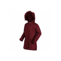 Regatta Wintermantel Honoria Parker mit Kunstfellbesatz rot 140