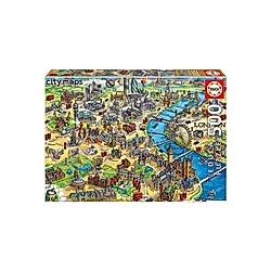 Educa Puzzle.  London Map 500 Teile