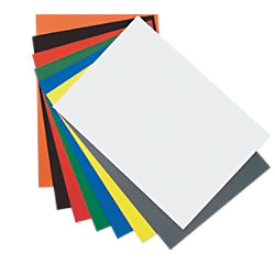 magnetoplan Magnetpapier 21 x 0,03 cm Gelb