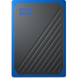 Western Digital My Passport Go 500GB USB 3.0 schwarz/blau (WDBMCG5000ABT-WESN)