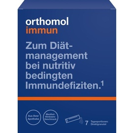 Orthomol Immun Himbeer / Menthol Direktgranulat 7 St.