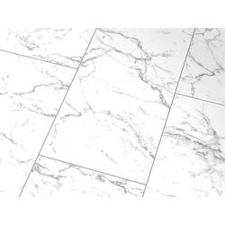 Glanzlaminat Falquon Stone HG D2921 Carrara Marmor 4V-Fuge