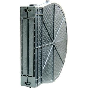 Schellenberg 51900 Mauerkasten für Einlasswickler und elektrische Gurtwickler MAXI, Lochabstand 13,5 cm, Gurtkasten aus PVC