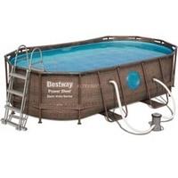 Bestway Power Steel Swim Vista Series Frame Pool oval