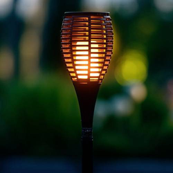 Firelamp Fackel TORCH 64122 Gartenleuchte Fackel Schwarz