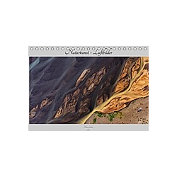 Naturkunst - Luftbilder (Tischkalender 2021 DIN A5 quer)