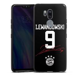 DeinDesign Handyhülle Lewandowski 9 LG G7 ThinQ, Hülle FC Bayern München FCB Lewandowski