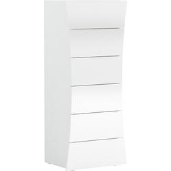 Tecnos Kommode Arco, Frontbreite 42-52 cm weiß
