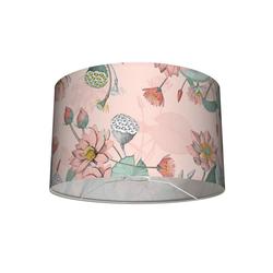 anna wand Lampenschirm Tisch- und Stehleuchten-Lampenschirm Seerosen Apricot 30x20 cm, Stofflampenschirm