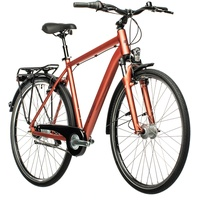 """Cube Town Pro red'n'grey 58cm   L (28"""") 2021 Citybikes"""