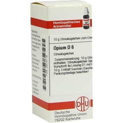 OPIUM D 6 Globuli 10 g