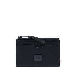 Geldtasche HERSCHEL - Leather Oscar Leather RFID Black (00001)
