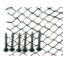 SIENA GARDEN Teichabdecknetz CORDATA 5x6m schwarz/grün
