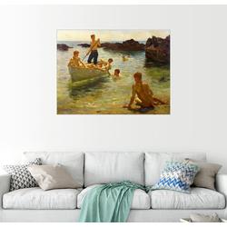 Posterlounge Wandbild, Morgendlicher Glanz 80 cm x 60 cm
