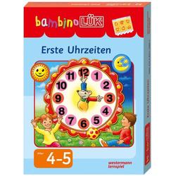 Bambino Lük Set Erste Uhrzeiten 7860