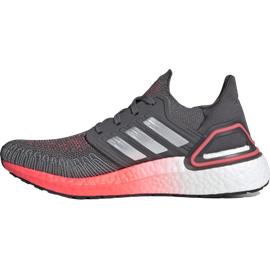 adidas Ultraboost 20 W grey five/silver metallic/signal pink/coral 40 2/3