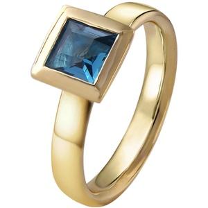 Acalee 90-1014-03 Damenring Gold 333 / 8K Topas London Blau, 53/16,9