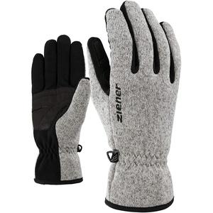 Ziener Erwachsene IMAGIO glove multisport Freizeit- / Funktions- / Outdoor-Handschuhe | atmungsaktiv, gestrickt, grau (grey melange), 10.5
