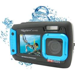 Easypix W-1400 Digitalkamera 14 Megapixel Schwarz, Blau Staubgeschützt, Unterwasserkamera, Frontdis